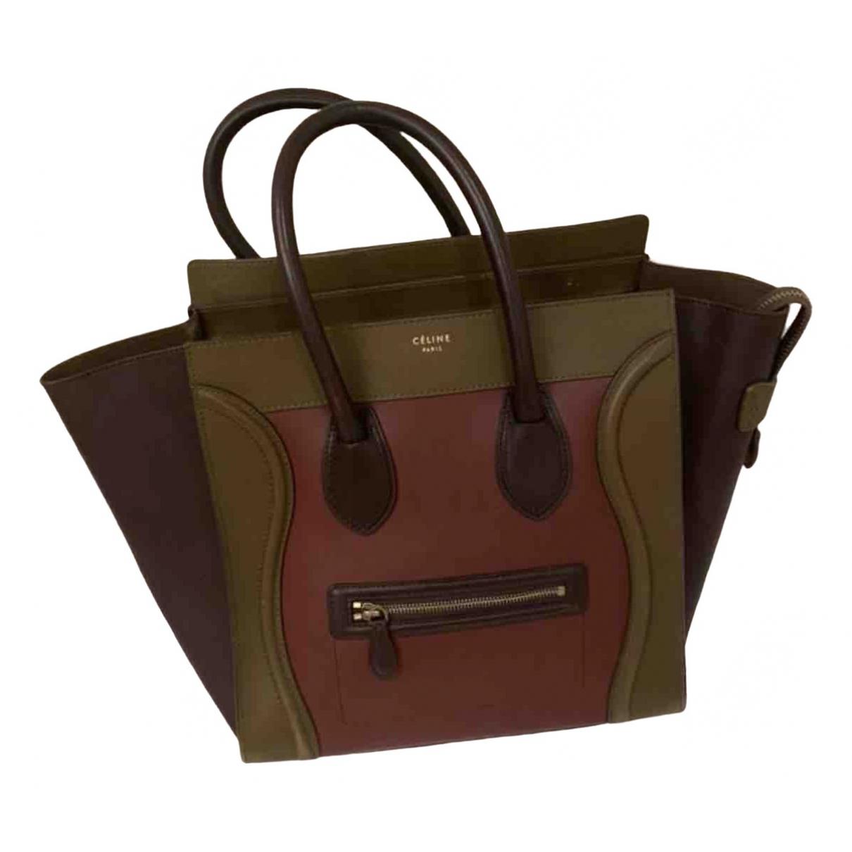 Bandolera Luggage de Cuero Celine