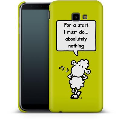 Samsung Galaxy J4 Plus Smartphone Huelle - For A Start von Sheepworld