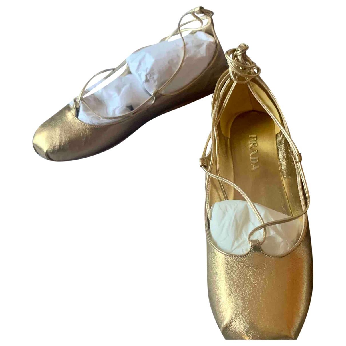 Bailarinas de Cuero Prada