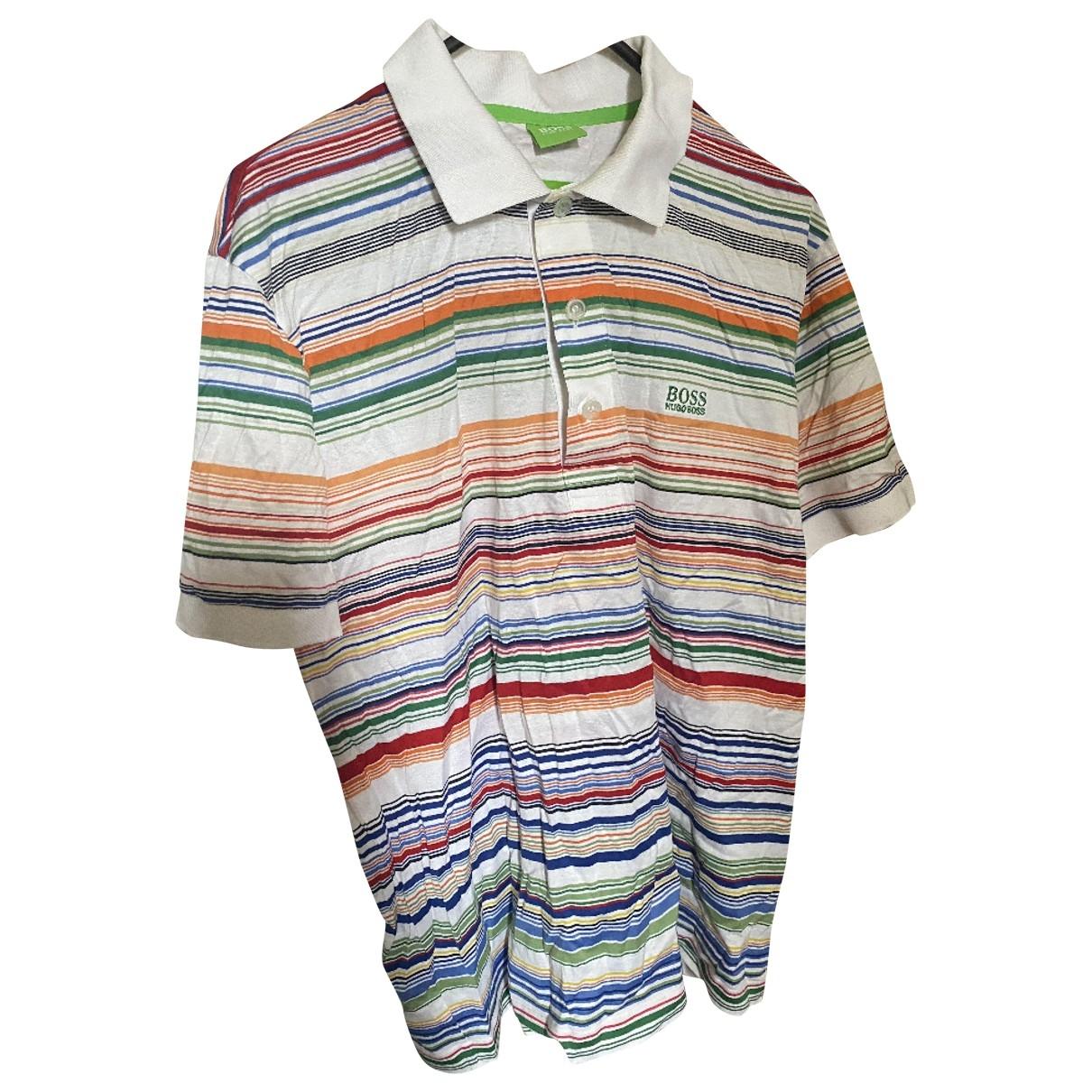 Boss - Polos   pour homme en coton - multicolore