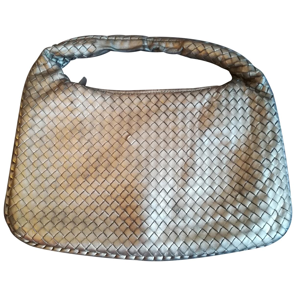 Bottega Veneta - Sac a main Veneta pour femme en cuir - dore