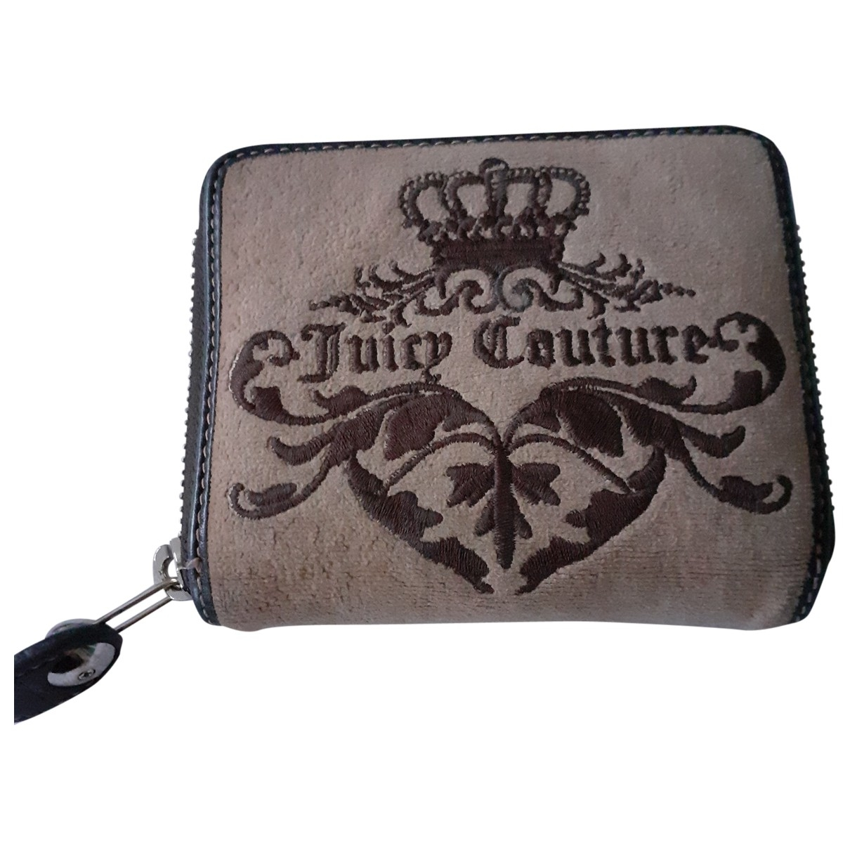 Juicy Couture \N Kleinlederwaren in  Beige Leinen