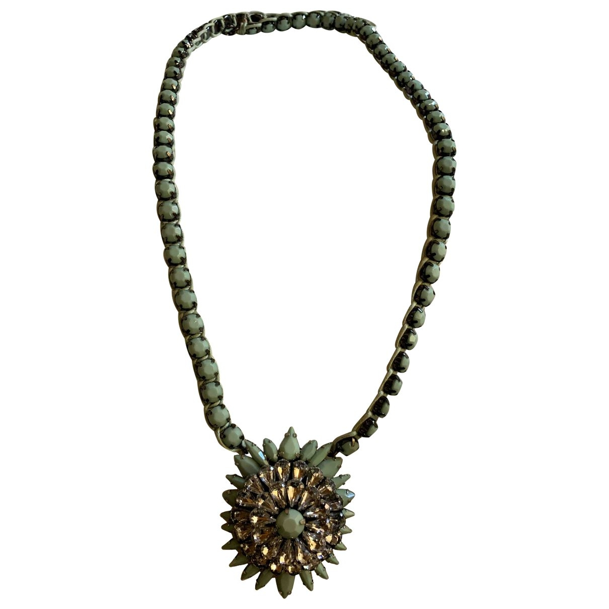 Maliparmi - Collier   pour femme en metal - vert