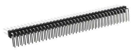 RS PRO , 72 Way, 2 Row, Right Angle Pin Header (10)