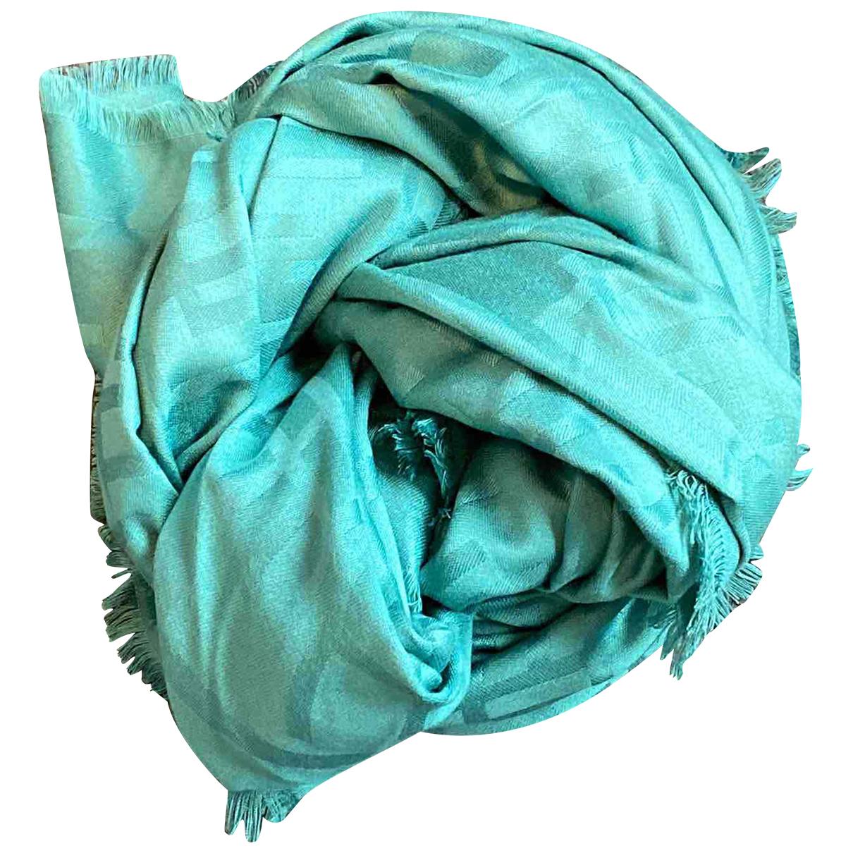 Elisabetta Franchi N Turquoise Silk scarf for Women N