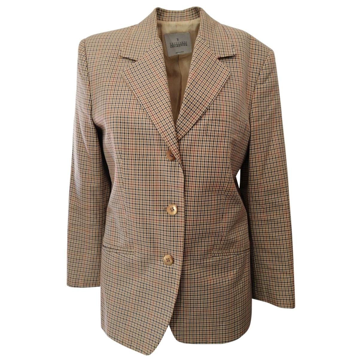 Trussardi - Veste   pour femme en coton - multicolore