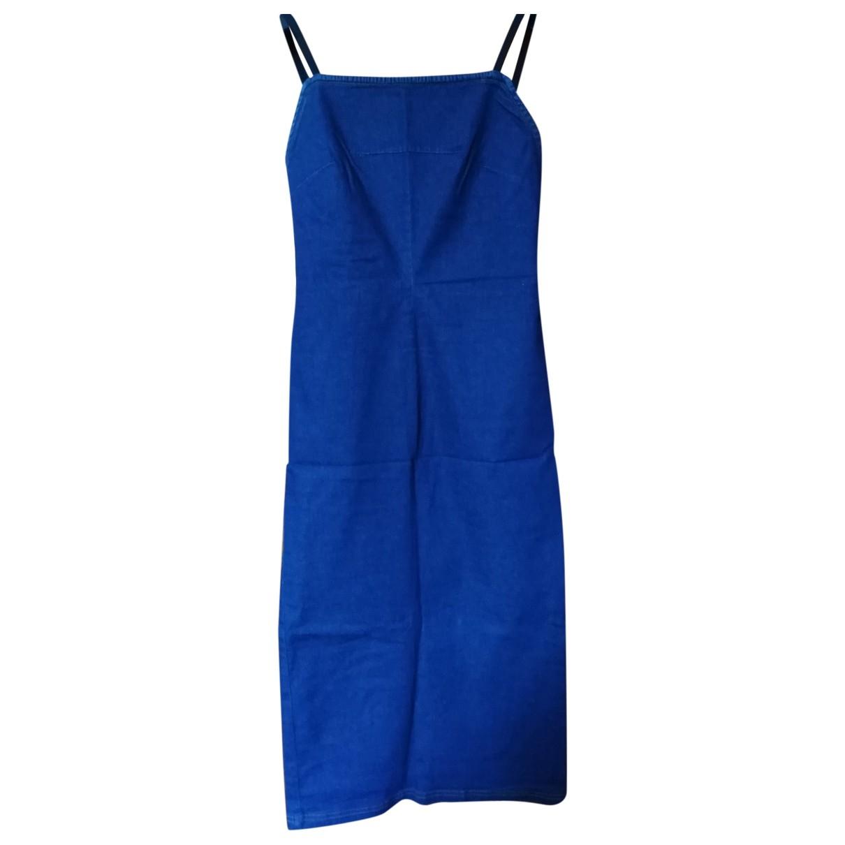 D&g - Robe   pour femme en denim - bleu