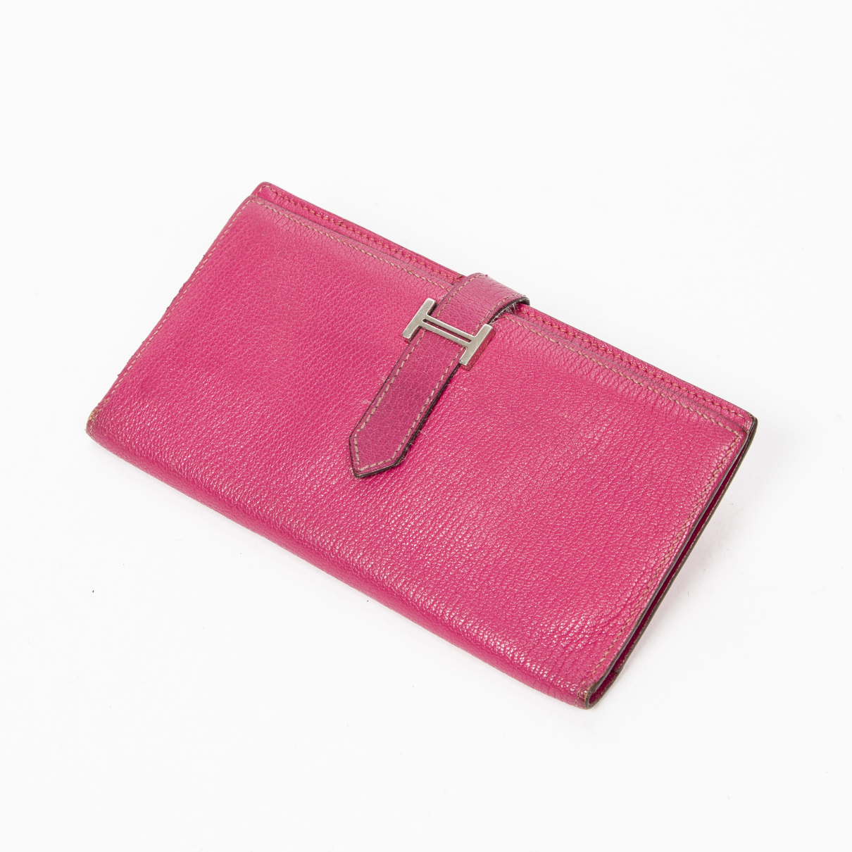 Hermès Béarn Pink wallet for Women \N