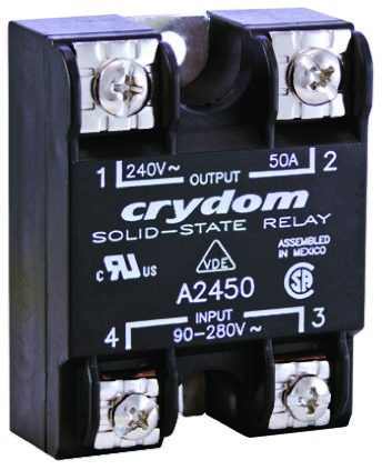 Sensata / Crydom 125 A rms Solid State Relay, Zero Cross, Surface Mount, SCR, 280 V rms Maximum Load