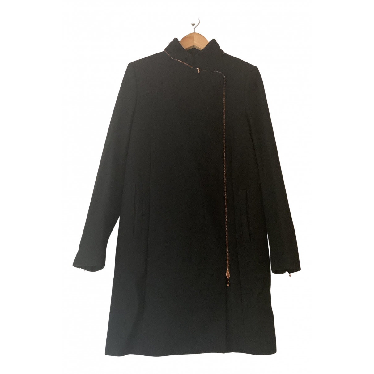 Mcq N Black Wool coat for Women 42 IT