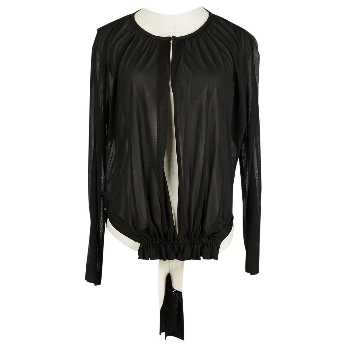 Maison Martin Margiela \N Black jacket for Women 42 IT