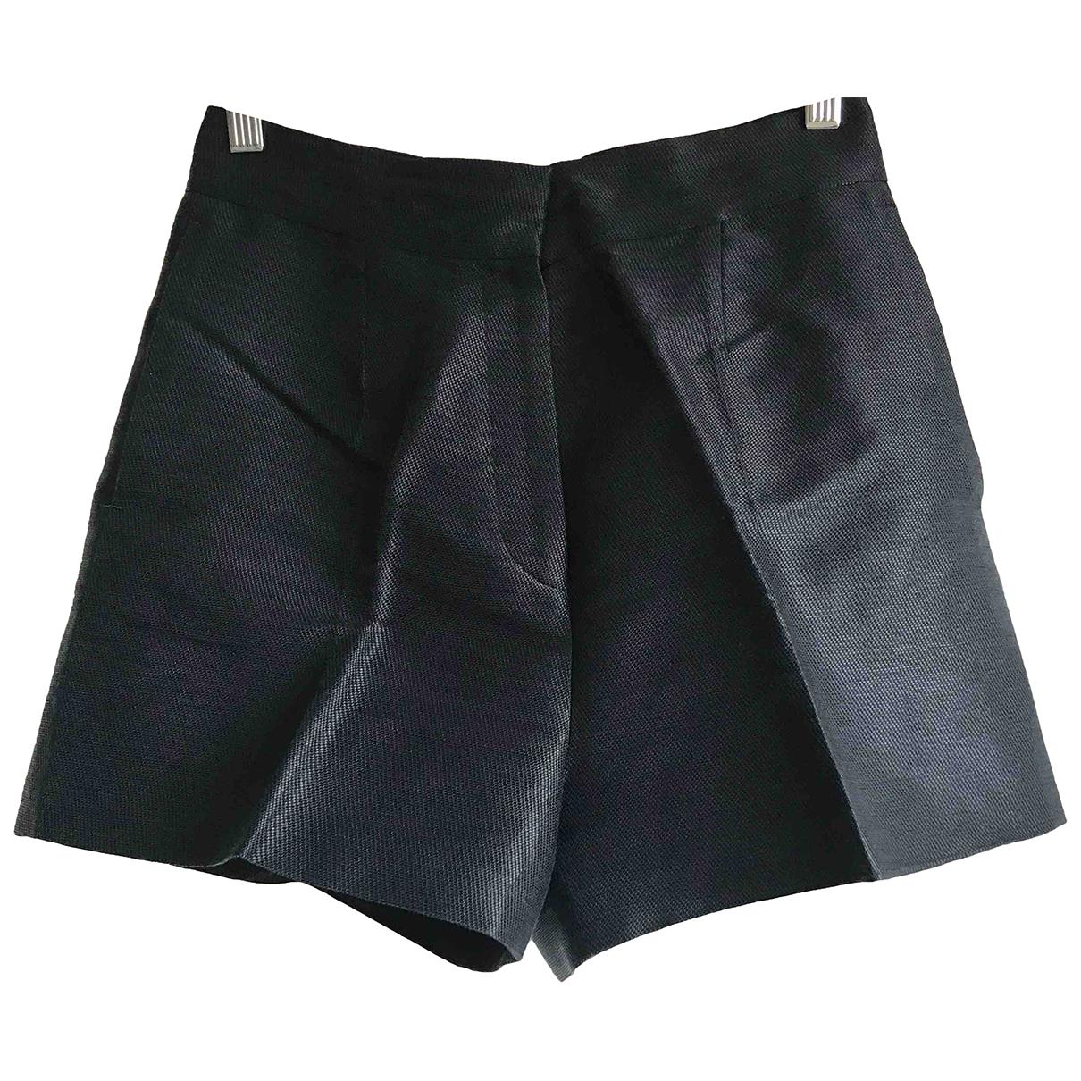 Valentino Garavani \N Shorts in  Blau Seide