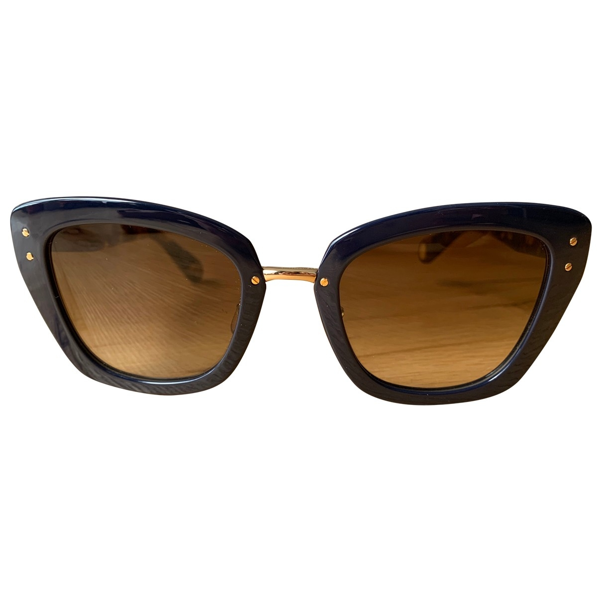Marc Jacobs \N Sonnenbrillen in  Blau Kunststoff