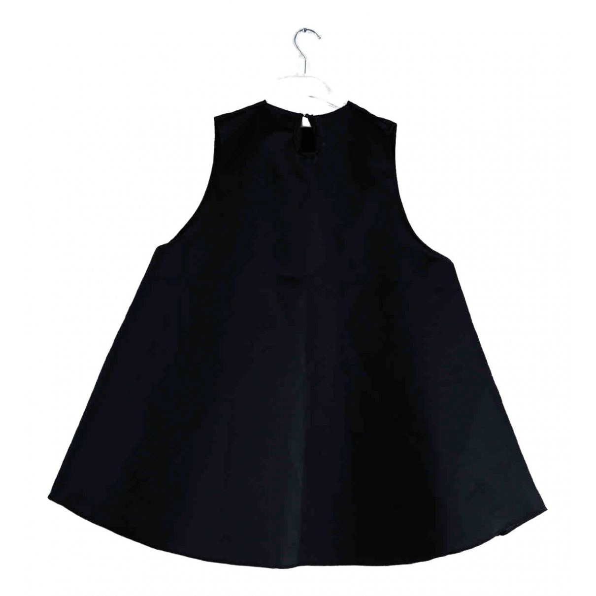Non Signe / Unsigned Oversize Kleid in  Schwarz Polyester