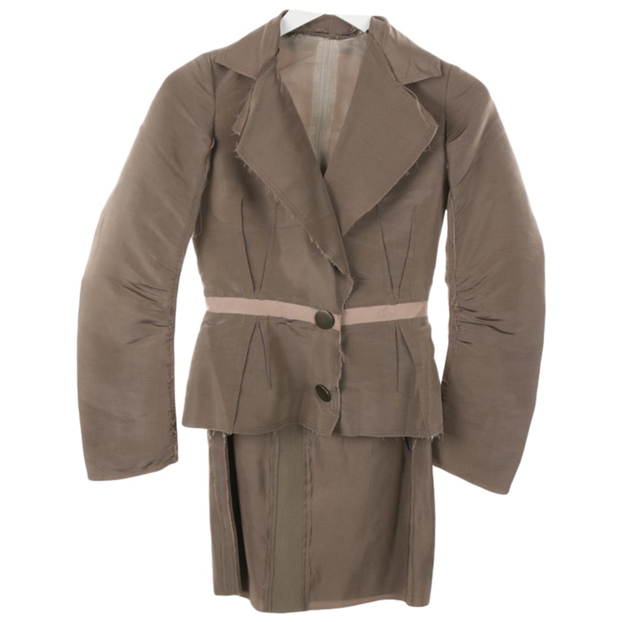 Lanvin N Grey Silk skirt for Women 34 FR