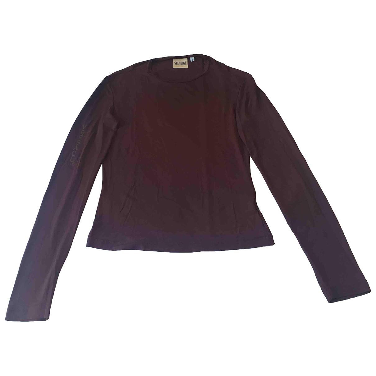 Versace Jean - Top   pour femme - marron