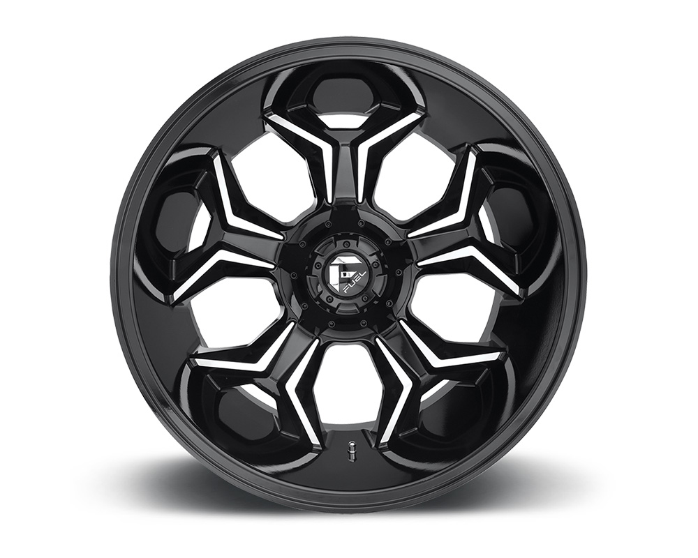 Fuel D606 Avenger Gloss Black & Milled 1-Piece Cast Wheel 20x9 6x135|6x139.7 01mm