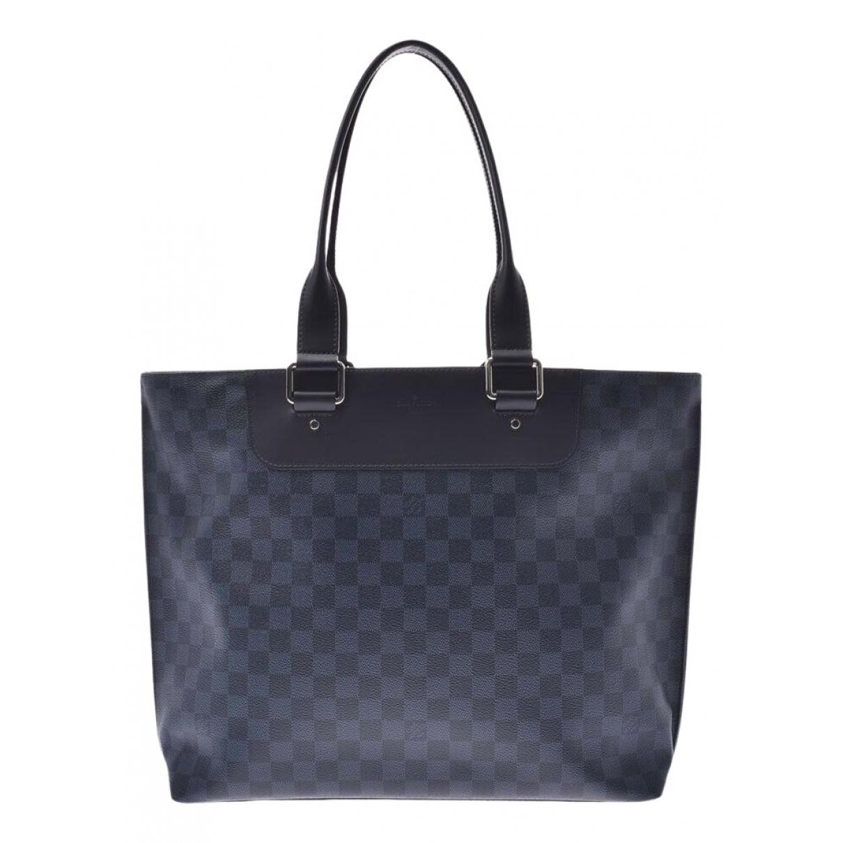 Louis Vuitton N Blue Cloth bag for Men N