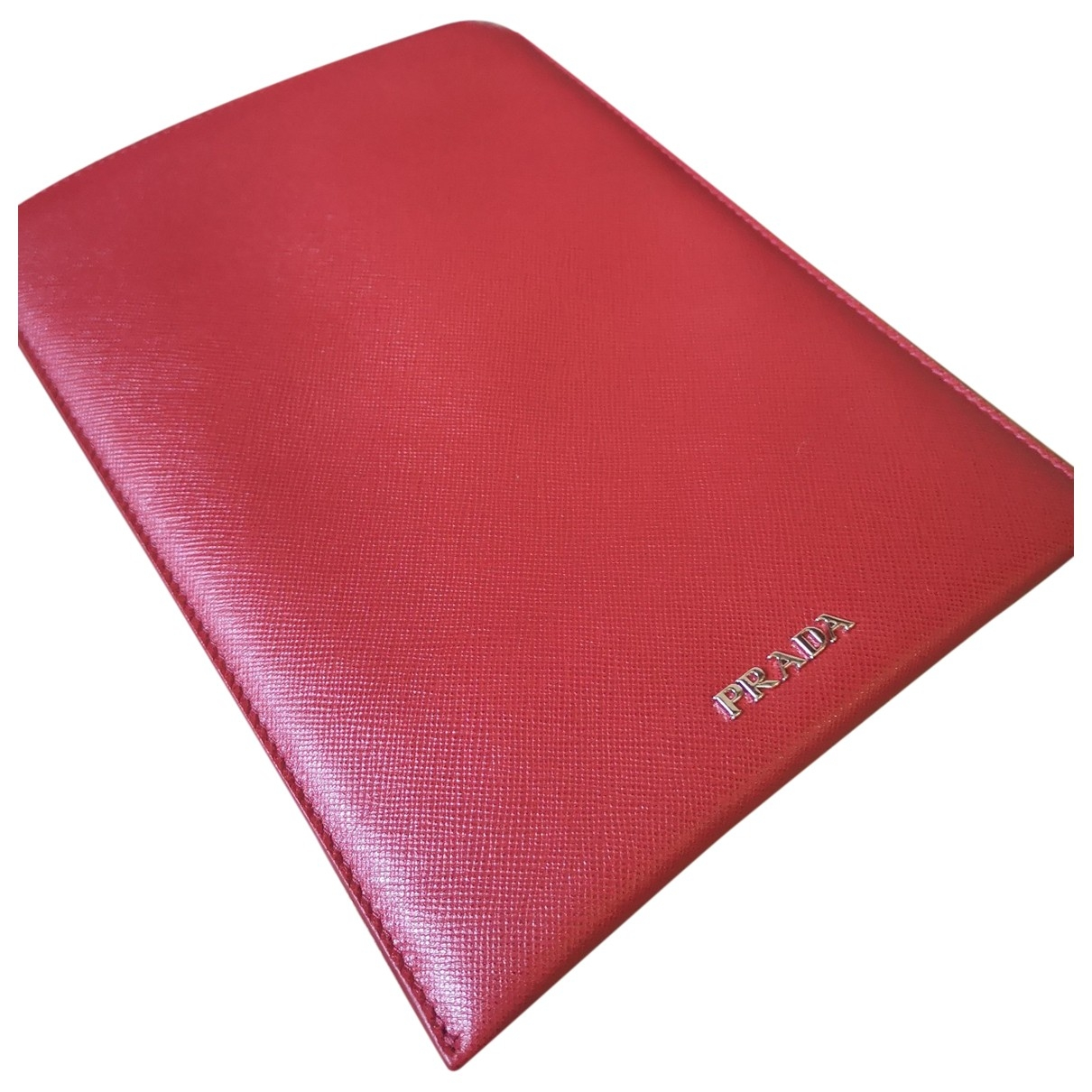 Prada \N Red Leather Accessories for Life & Living \N