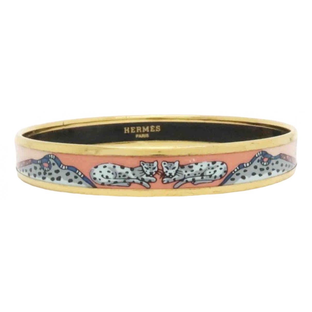 Hermès Bracelet Email Pink Ceramic bracelet for Women \N