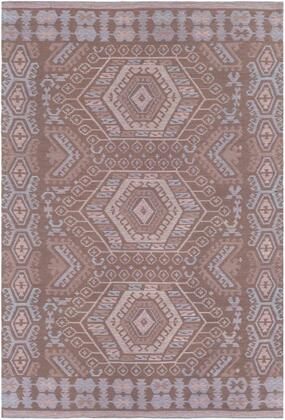 SAJ1067-46 4 x 6 Rug  in Camel and Light Gray and Cream and