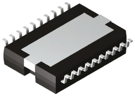 STMicroelectronics TDA7266D , 2-Channel Audio Amplifier, 20-Pin PowerSO (2)