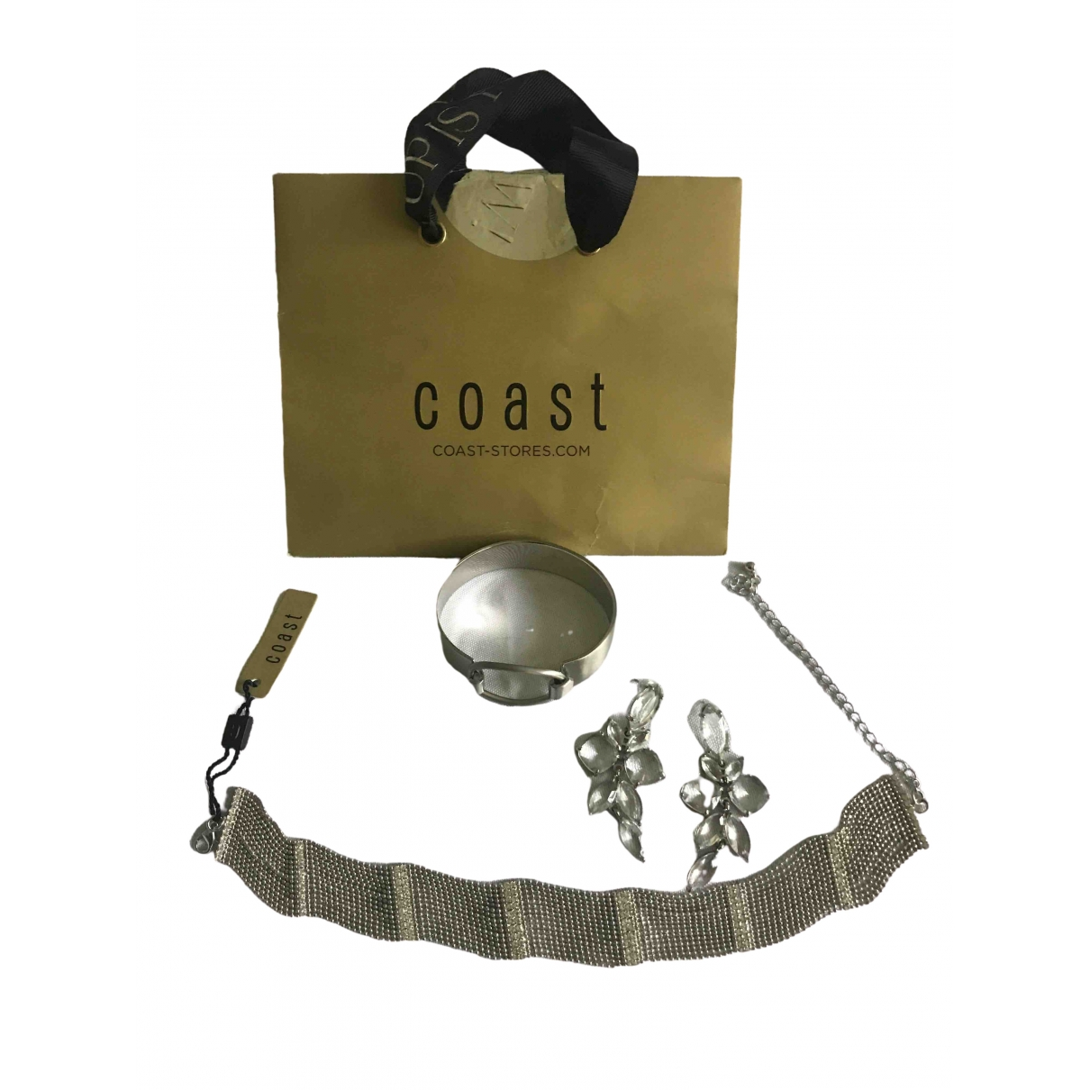 Coast \N Silver Silver Plated Jewellery set for Women \N