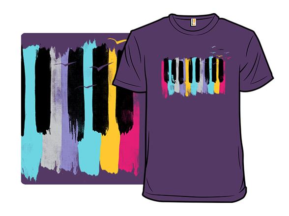 Music Colors T Shirt