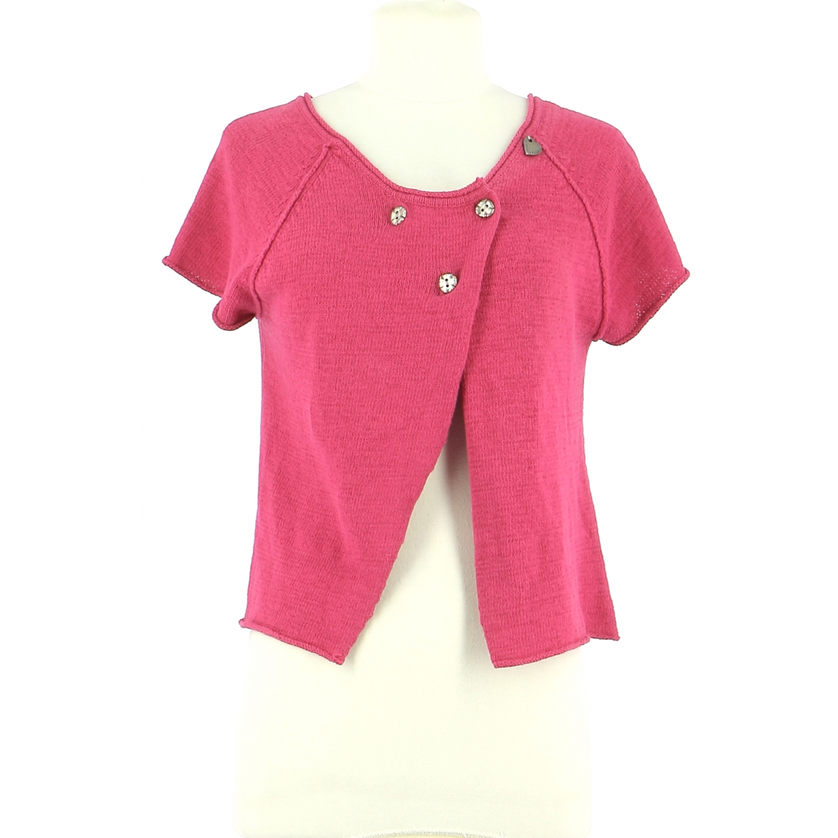 Autre Marque \N Pullover.Westen.Sweatshirts  in  Rosa Baumwolle