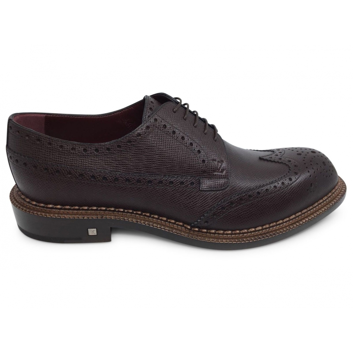 Louis Vuitton \N Brown Leather Lace ups for Men 8.5 UK