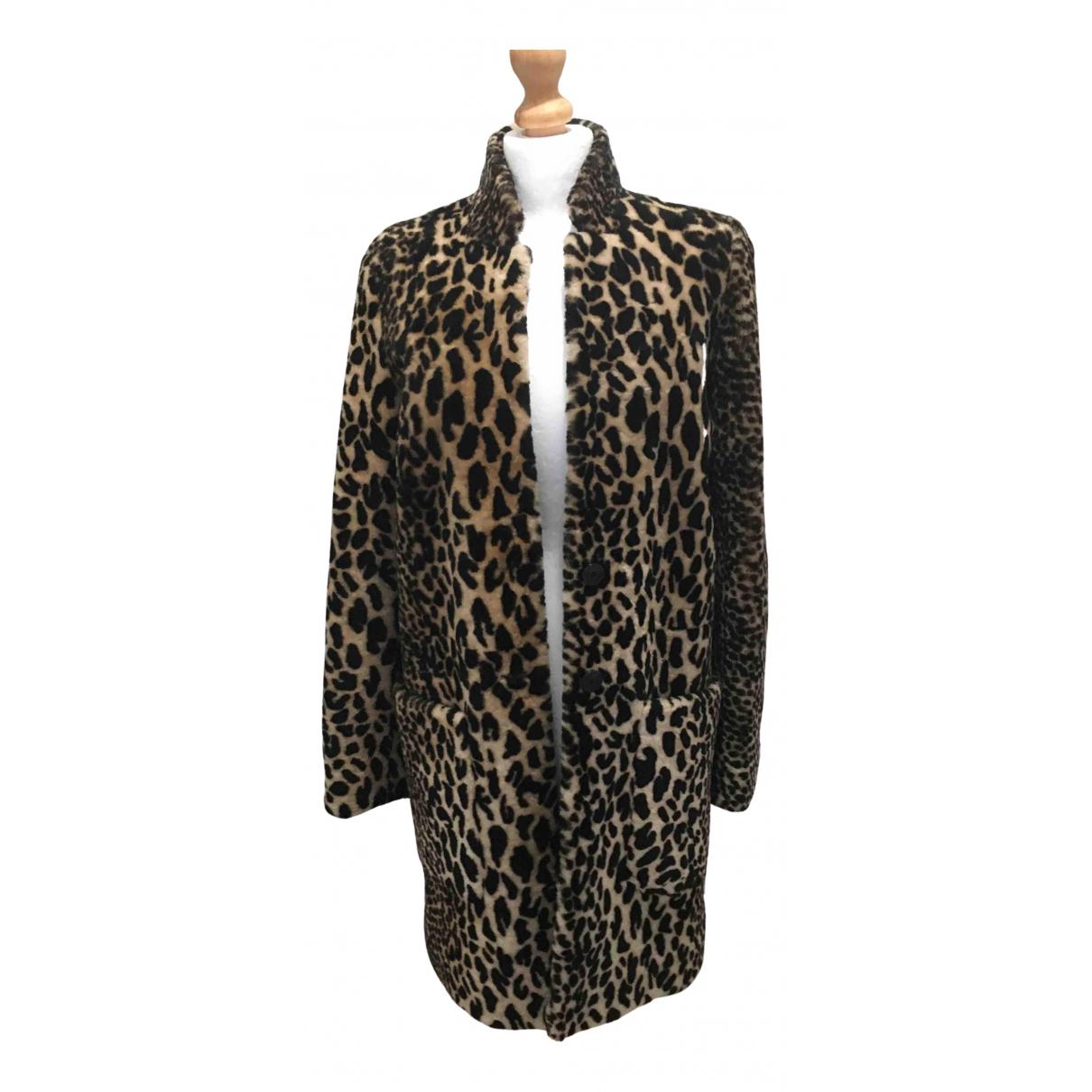 Karen Millen - Manteau   pour femme en cuir