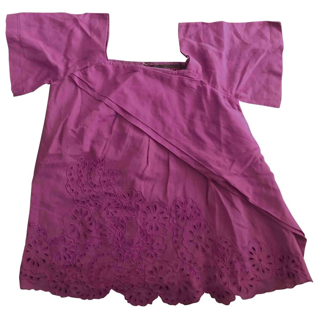 Antik Batik \N Purple Cotton  top for Kids 6 years - up to 114cm FR