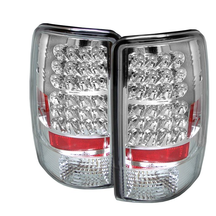 Spyder Lift Gate Style Only LED Chrome Tail Lights Chevrolet Suburban Tahoe 1500 2500 00-06