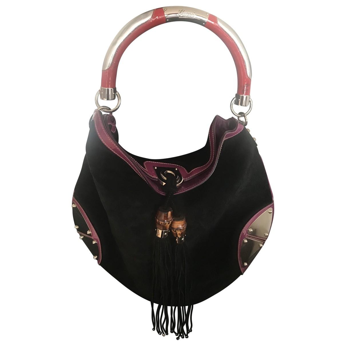 Gucci Indy Black Velvet handbag for Women \N