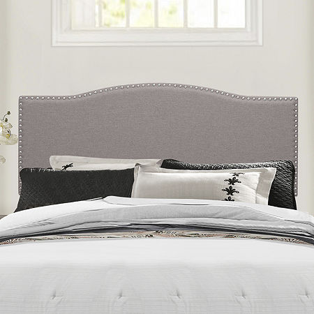 Bedroom Possibilities Blakely Upholstered Headboard, One Size , Gray