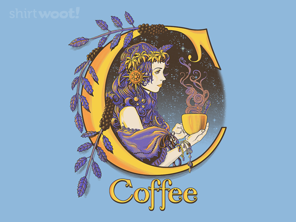 C Is For Coffee Remix T Shirt