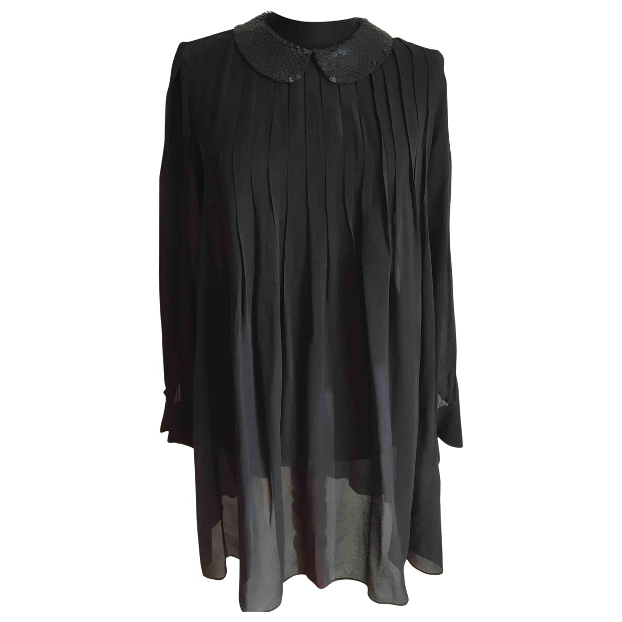 Theory \N Black Silk  top for Women 6 UK