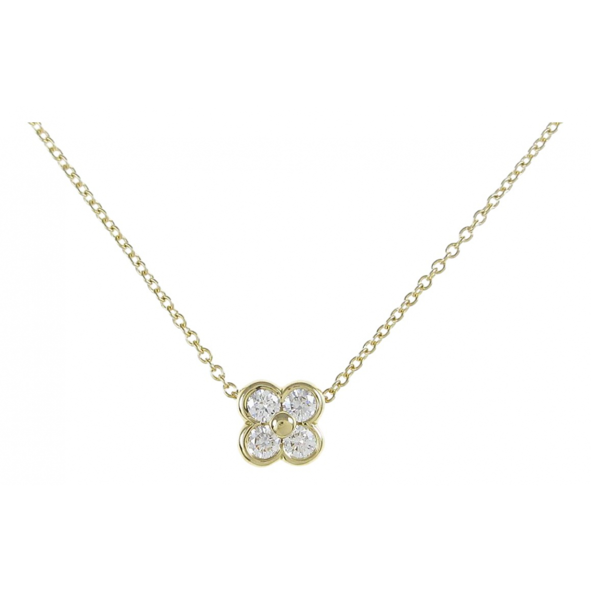 Tiffany & Co - Collier   pour femme en or jaune
