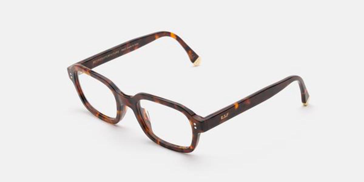 Retrosuperfuture Numero 65 Classic Havana I9LJ 9TE Men's Glasses Tortoise Size 51 - Free Lenses - HSA/FSA Insurance - Blue Light Block