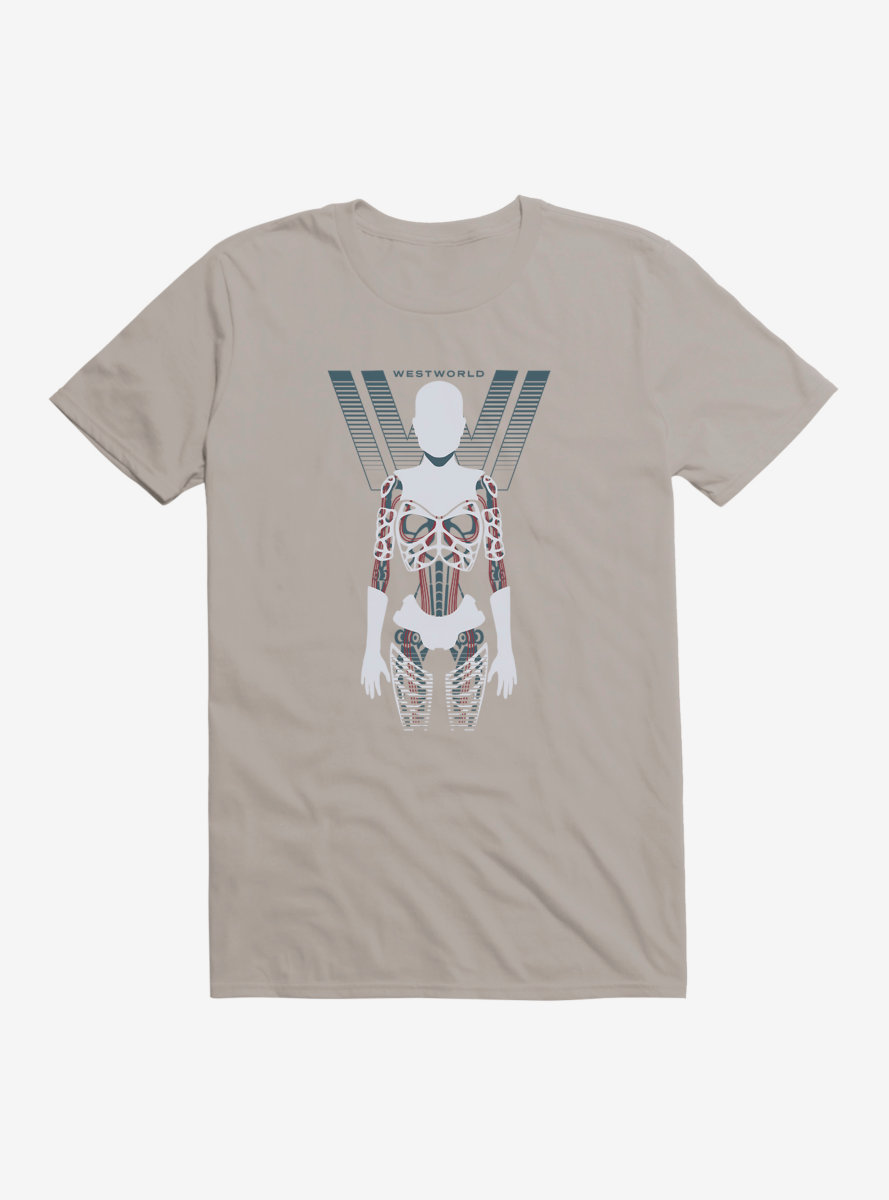 Westworld Anatomy Of An Android T-Shirt