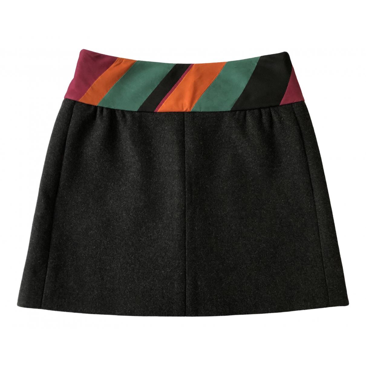 Louis Vuitton - Jupe   pour femme en cachemire - gris
