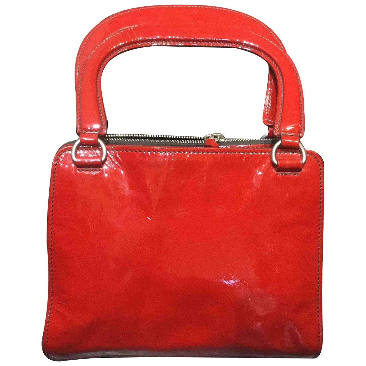 Miu Miu \N Red Patent leather handbag for Women \N