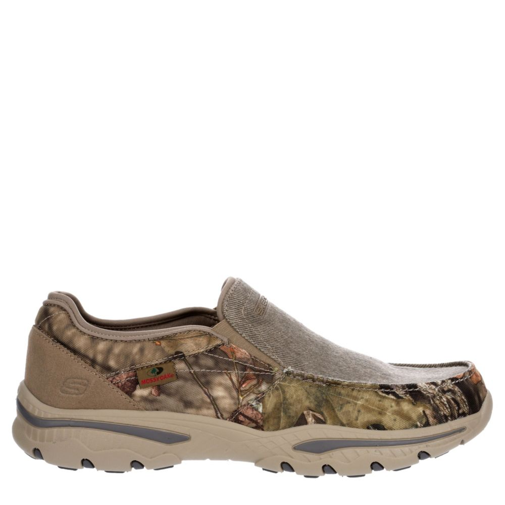 Skechers Mens Creston-Moseco Canvas Shoes Loafers