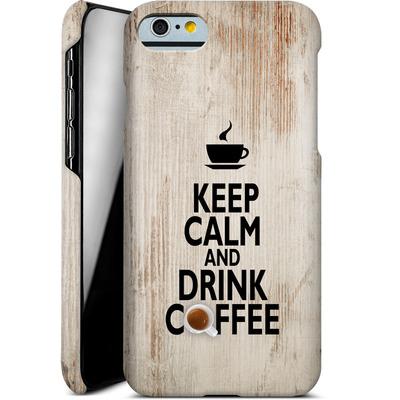 Apple iPhone 6s Smartphone Huelle - Drink Coffee von caseable Designs