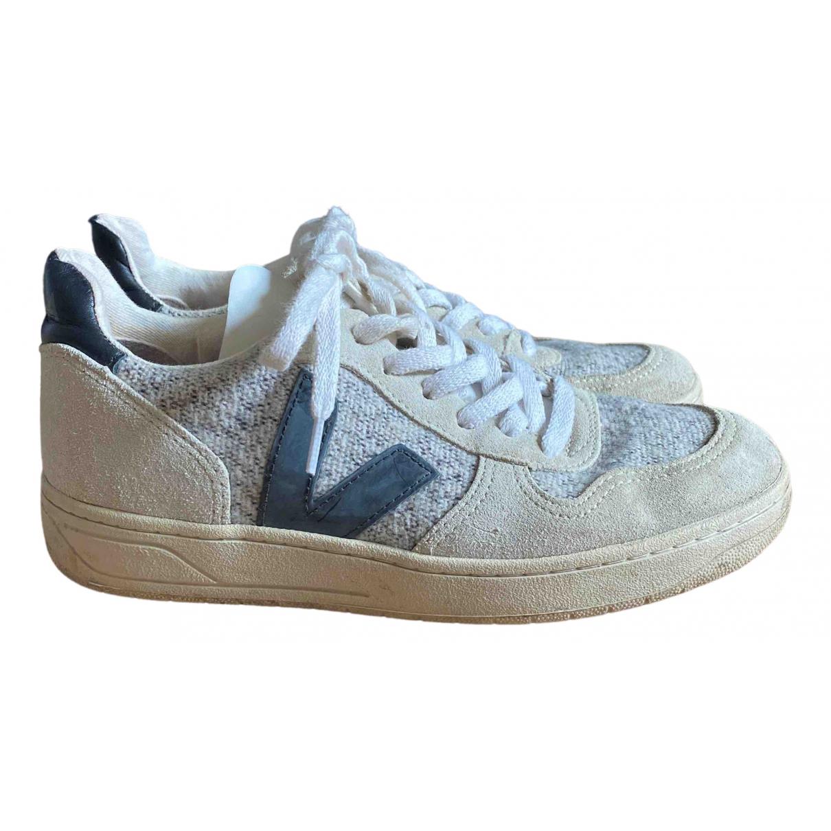Veja \N Sneakers in  Grau Kautschuk
