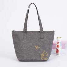 Elk Print Lunch Box Insulation Bag