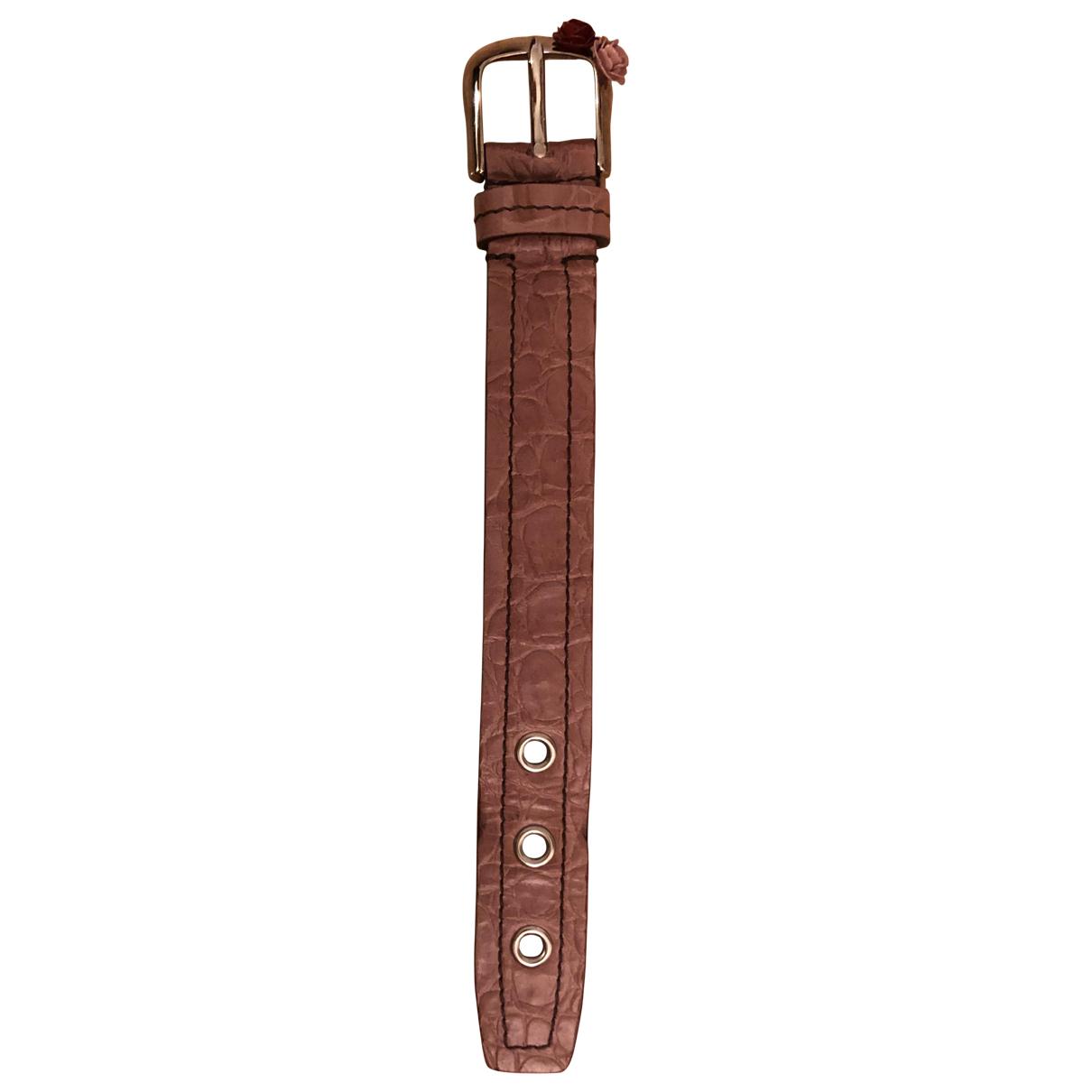 Miu Miu N Pink Leather bracelet for Women N