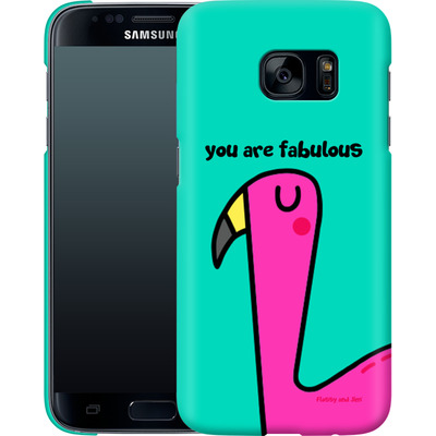 Samsung Galaxy S7 Smartphone Huelle - You are Fabulous von Flossy and Jim