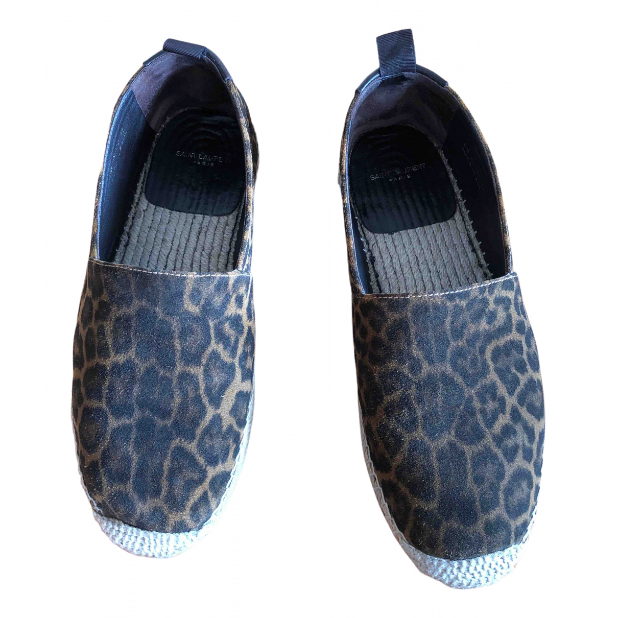 Saint Laurent \N Espadrilles in  Braun Leder