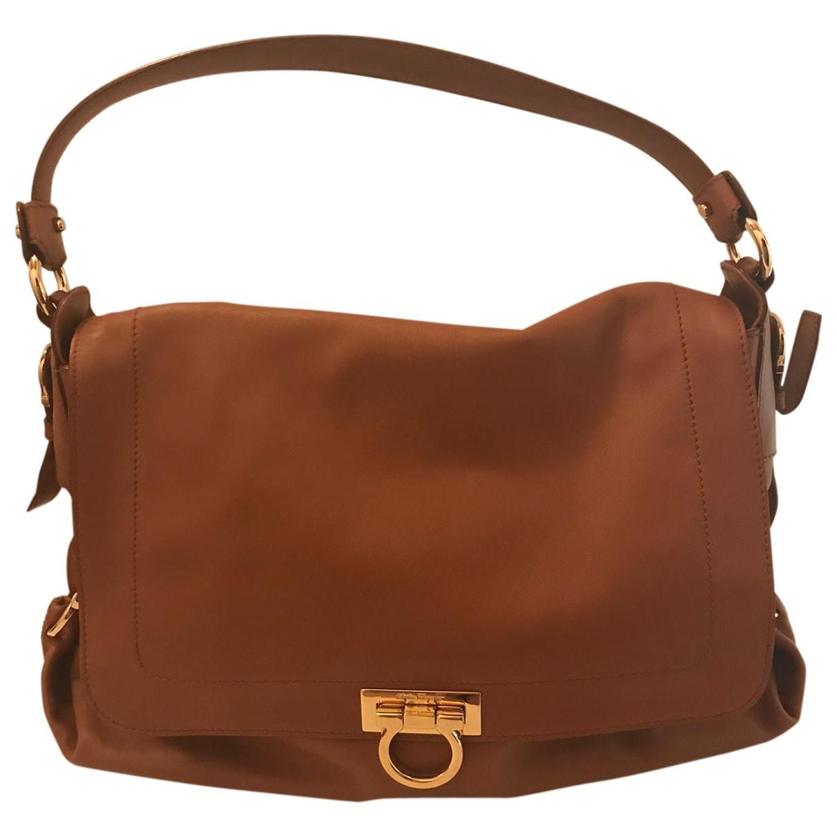 Salvatore Ferragamo \N Brown Leather handbag for Women \N